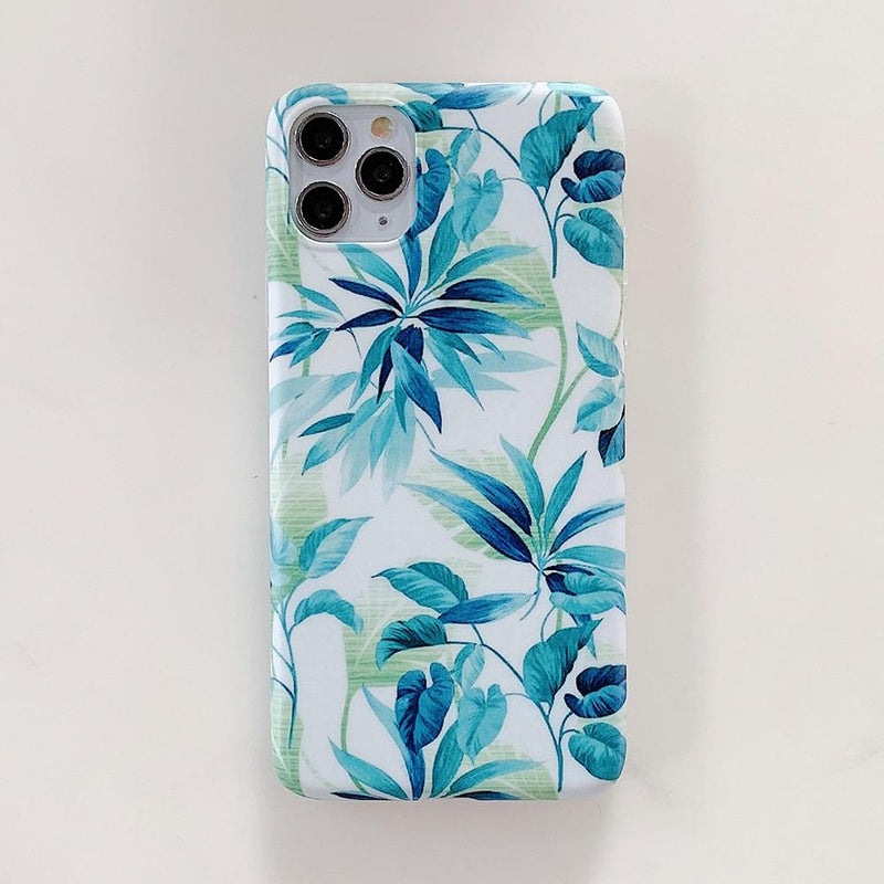 Beautiful Flower Leaf Case - Jelly Cases