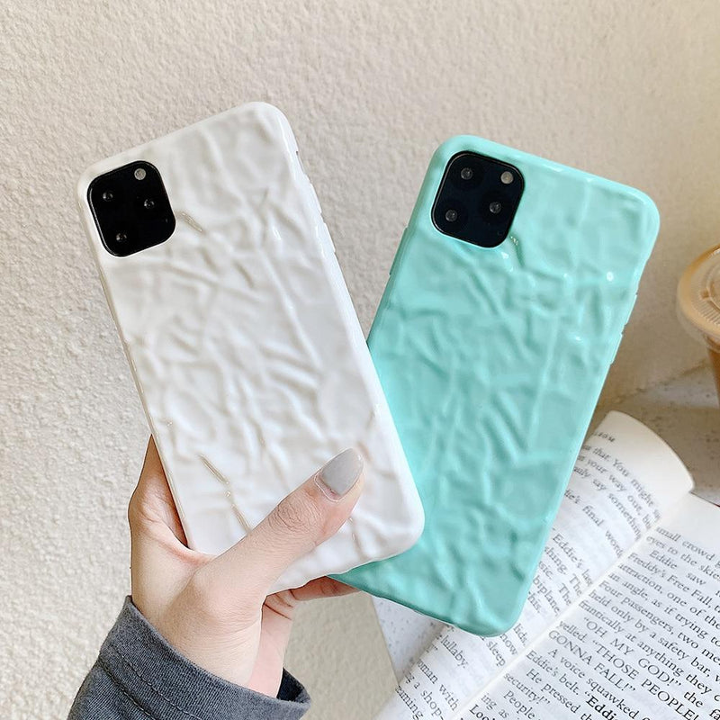 Candy Color Wrinkled Case - Jelly Cases