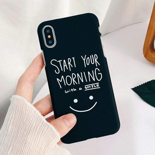 Cheerful Morning Case - Jelly Cases