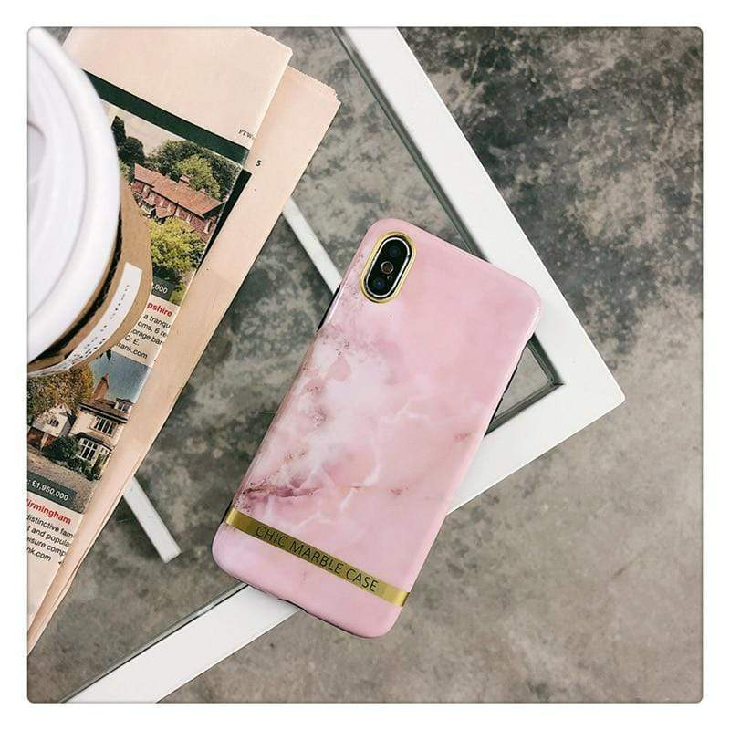 Chic Marble Case - Jelly Cases