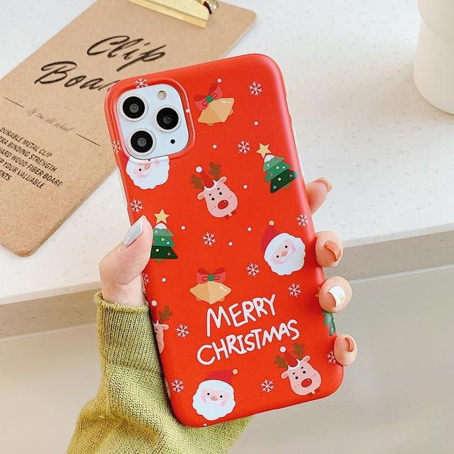 Christmas Reindeer Case - Jelly Cases