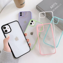 Clear Candy Bumper Case - Jelly Cases