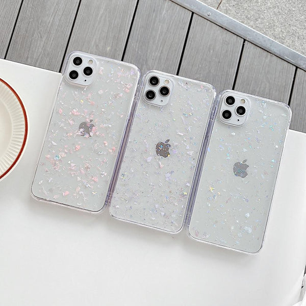 Clear Glitter Case - Jelly Cases
