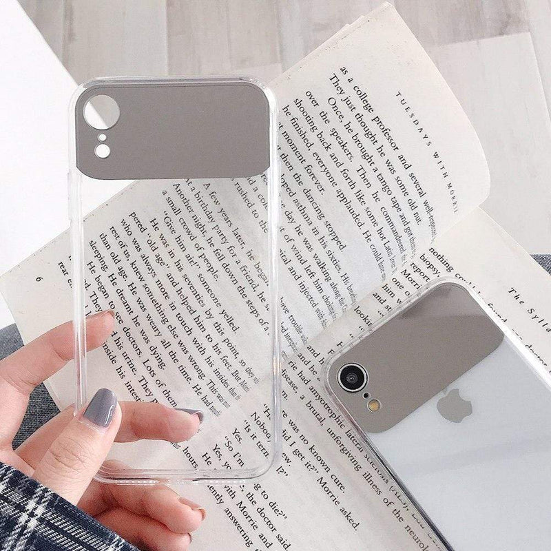 Clear Mirror Cute Case - Jelly Cases