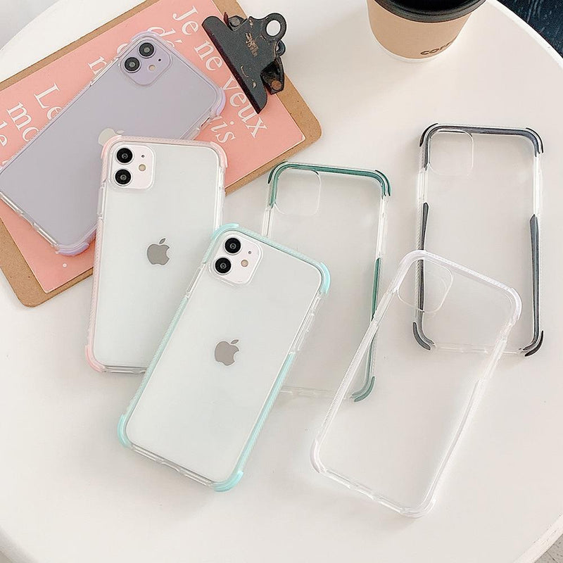 Clear Shockproof Candy Case - Jelly Cases