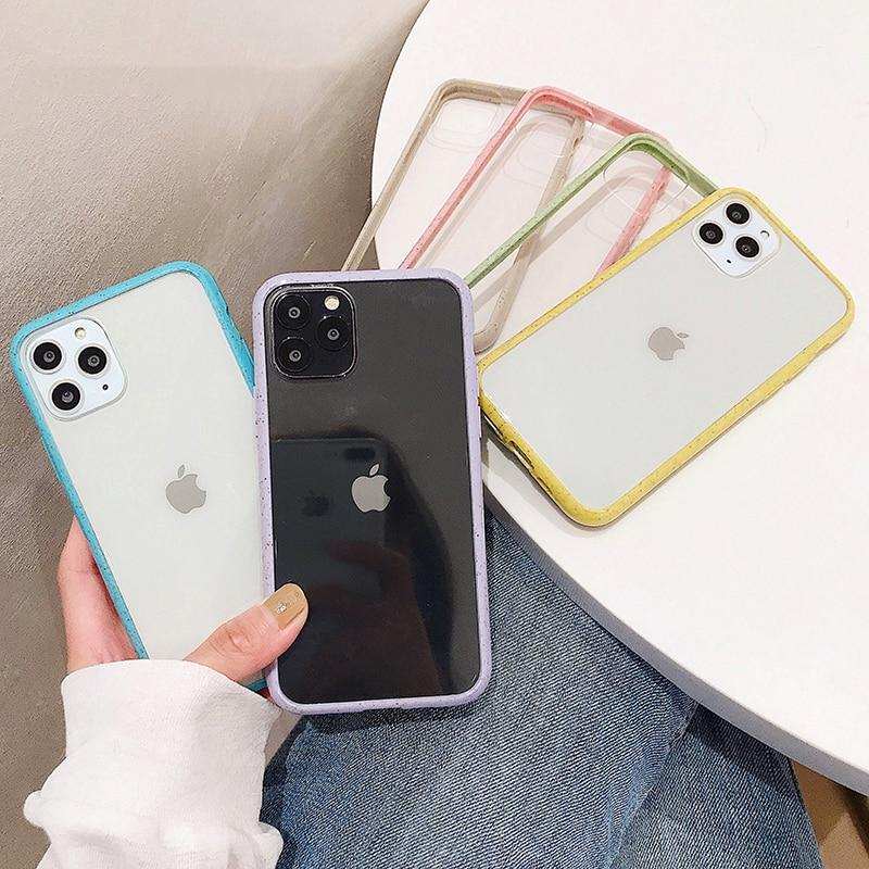 Colorful Lining Clear Case - Jelly Cases
