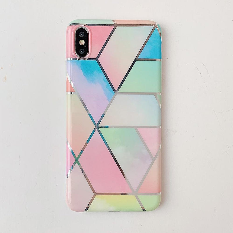 Colorful Marble Case - Jelly Cases