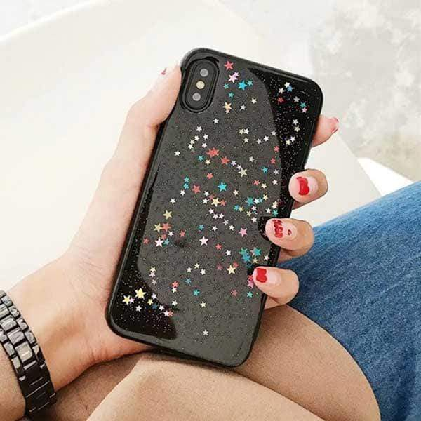 Colorful Stars Case - Jelly Cases