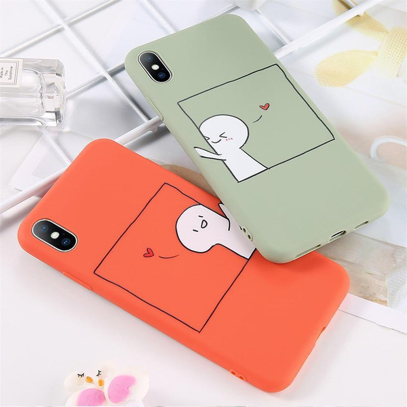 Couples Love Heart Case - Jelly Cases