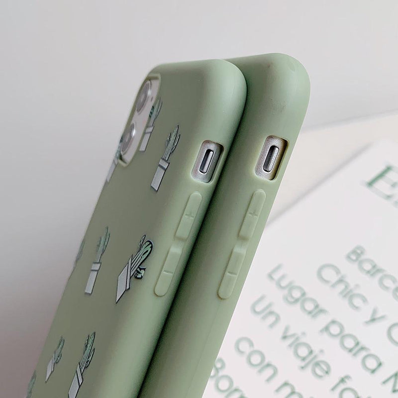 Cute Cactus Case - Jelly Cases