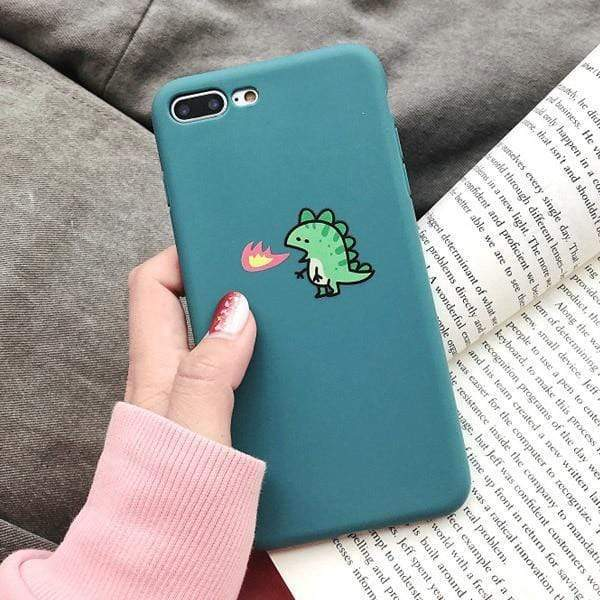 Cute Fire Dragon Cases - Jelly Cases