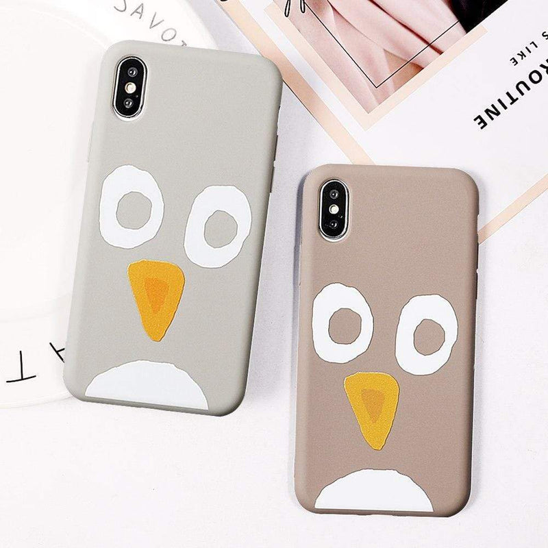 Cute Penguin Case Jelly Cases