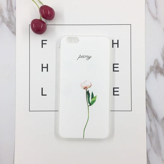 Cute Plants Case - Jelly Cases