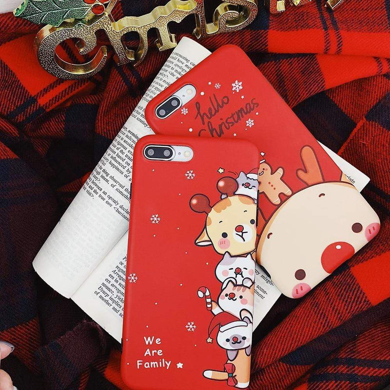 Cutesy Christmas Case - Jelly Cases