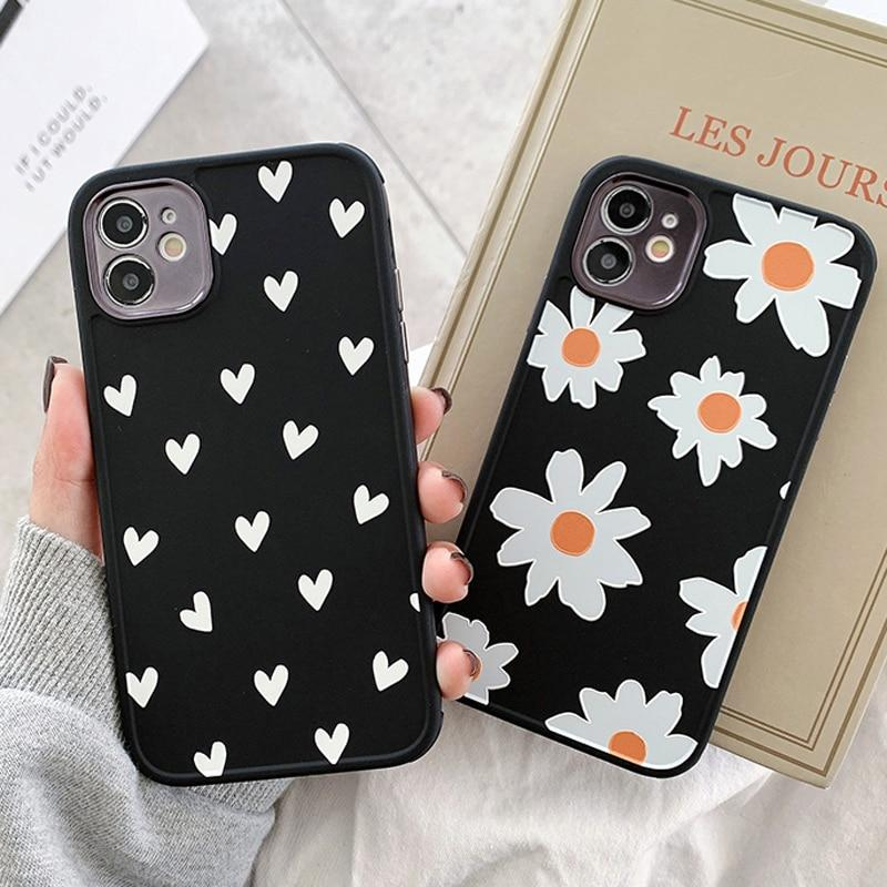 Daisy Hearts Case - Jelly Cases