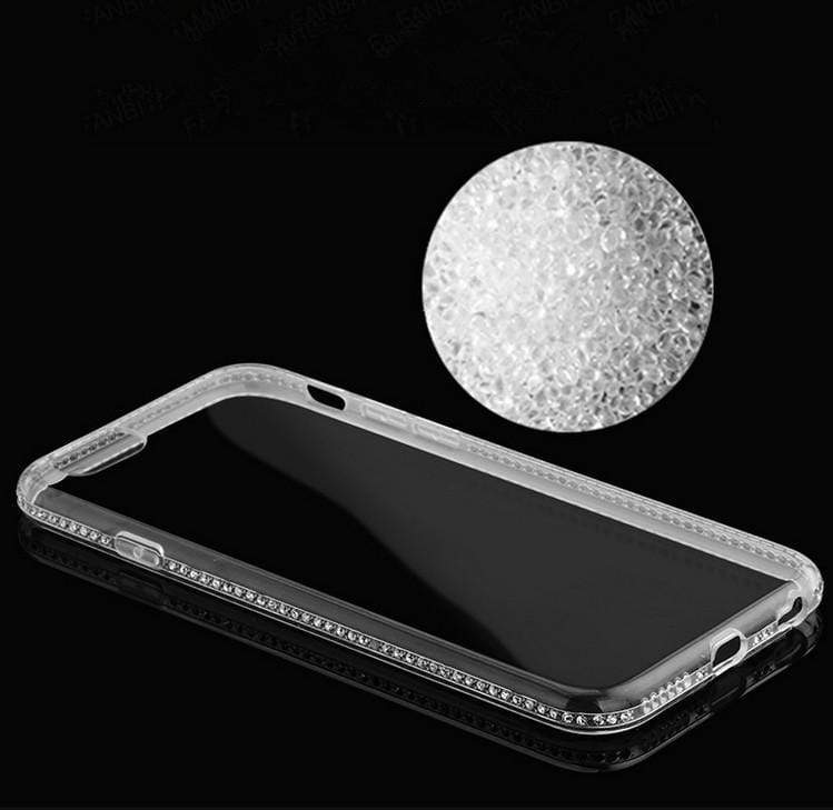 Diamond Bling Transparent Case - Jelly Cases