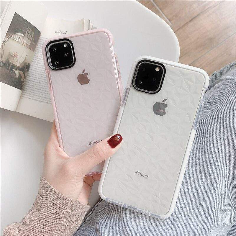 Diamond Transparent Case - Jelly Cases
