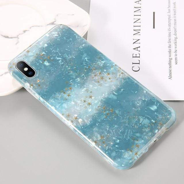 Dream Shell Marble Case - Jelly Cases