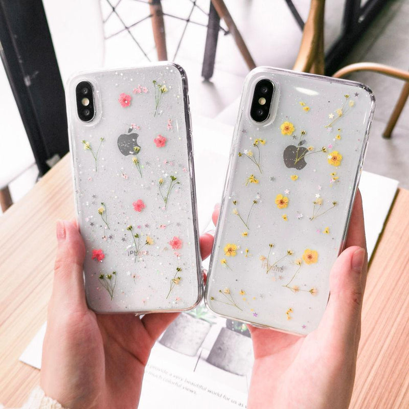 Dried Flowers Case - Jelly Cases