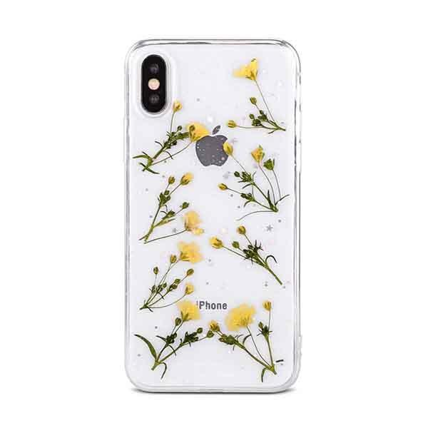Dried Flowers Transparent Case - Jelly Cases