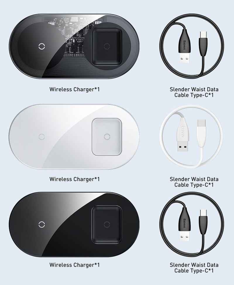 Dual Wireless Charger - Jelly Cases
