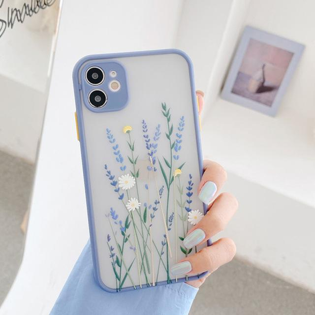 Flower Leaf Case - Jelly Cases