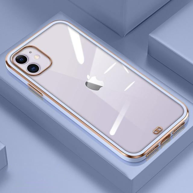 Gold Plated Square Case - Jelly Cases