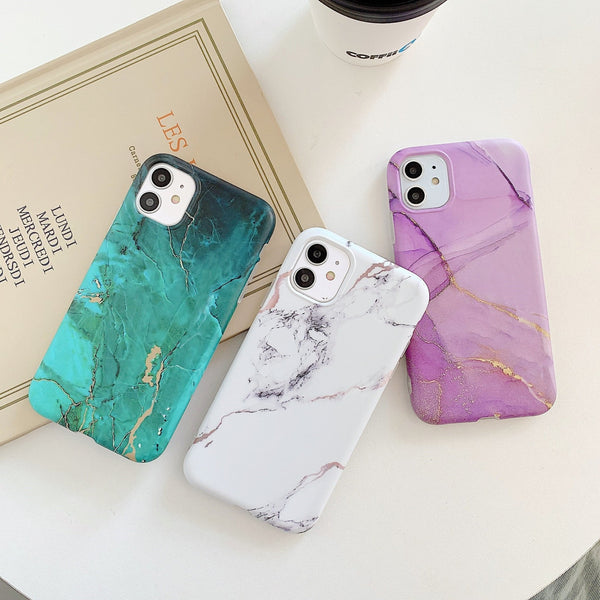 Gradient Marble Case - Jelly Cases