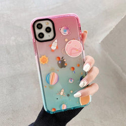 Gradient Planet Case - Jelly Cases