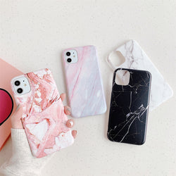 Granite Stone Marble Case - Jelly Cases