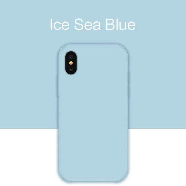 Ice Sea Blue Original Silicone Case - Jelly Cases