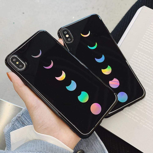Laser Moon Eclipse Case - Jelly Cases