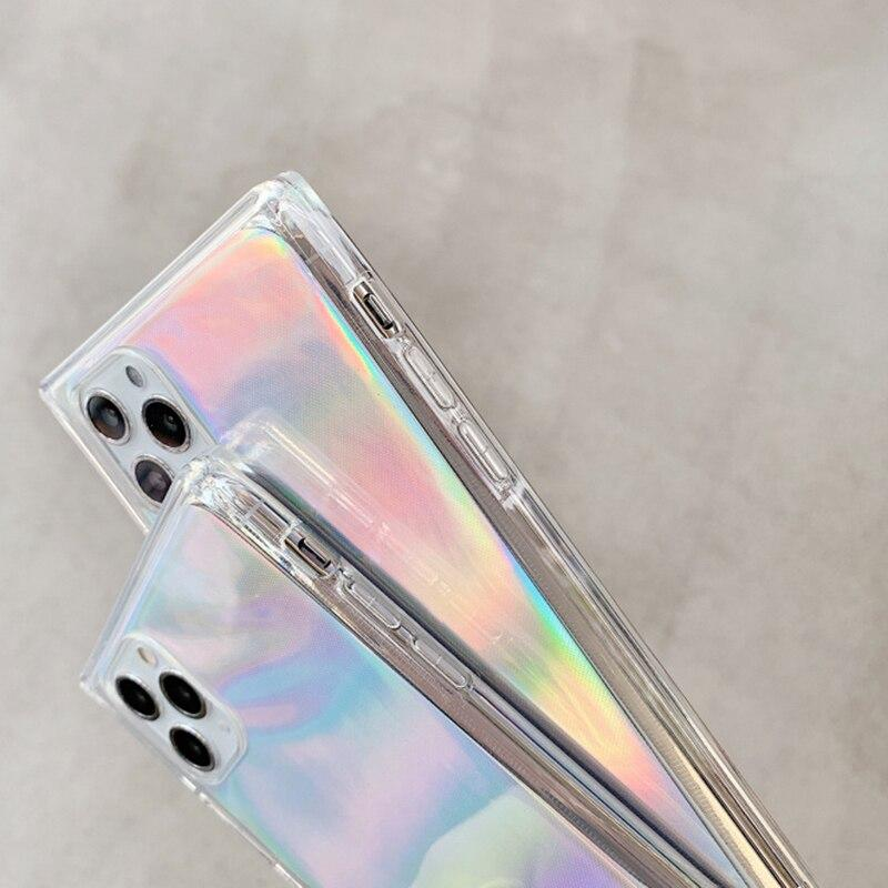 Laser Square Case - Jelly Cases