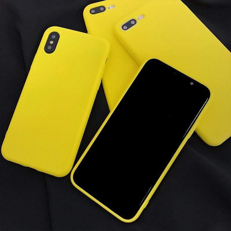 Lemon Yellow Case - Jelly Cases