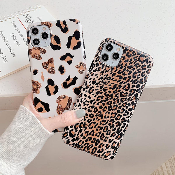 Leopard Print Case - Jelly Cases