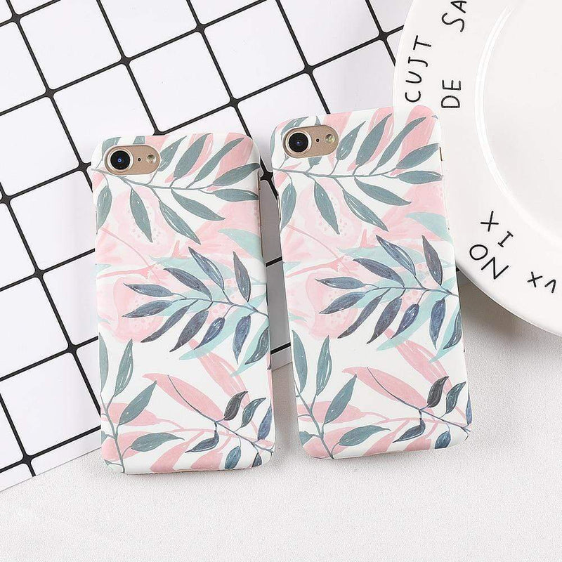 Lovely Leaf Case - Jelly Cases
