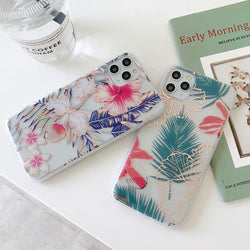 Luxury Floral Case - Jelly Cases