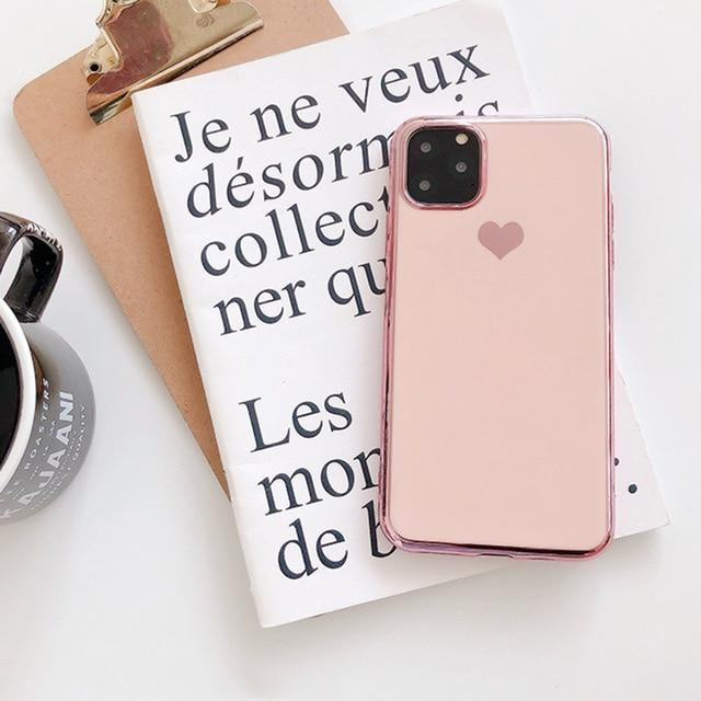 Luxury Heart Case - Jelly Cases