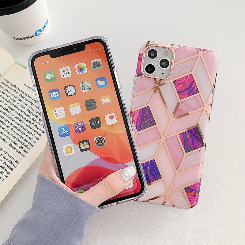 Luxury Marble Case - Jelly Cases