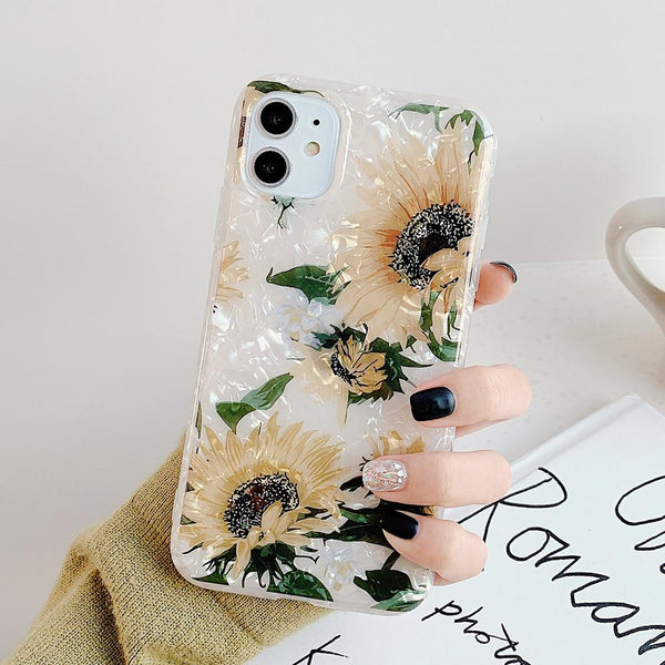 Luxury Sunflower Case - Jelly Cases