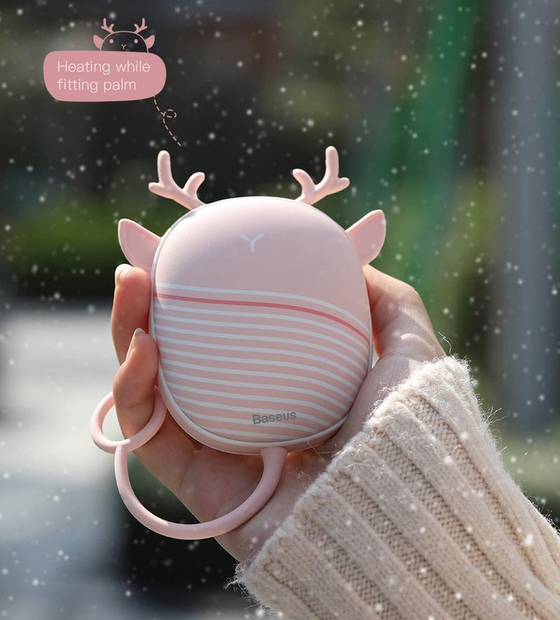 Mini Hand Warmer With Lamp - Jelly Cases