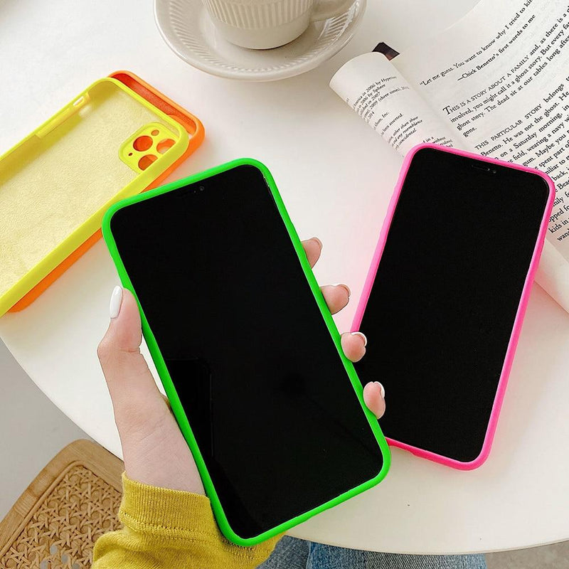 Neon Heart Case - Jelly Cases