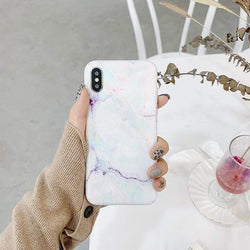 Pastel Marble Case - Jelly Cases