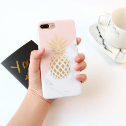 Pineapple Marble - Jelly Cases