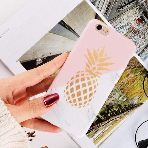 Pineapple Marble Case - Jelly Cases