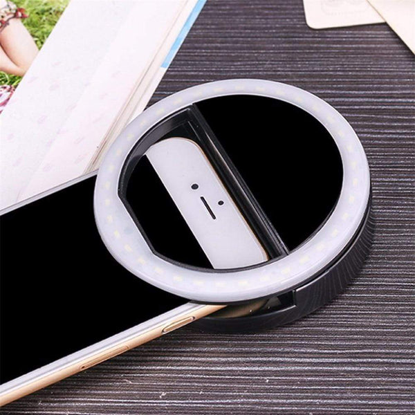 Portable LED Selfie Ring - Jelly Cases