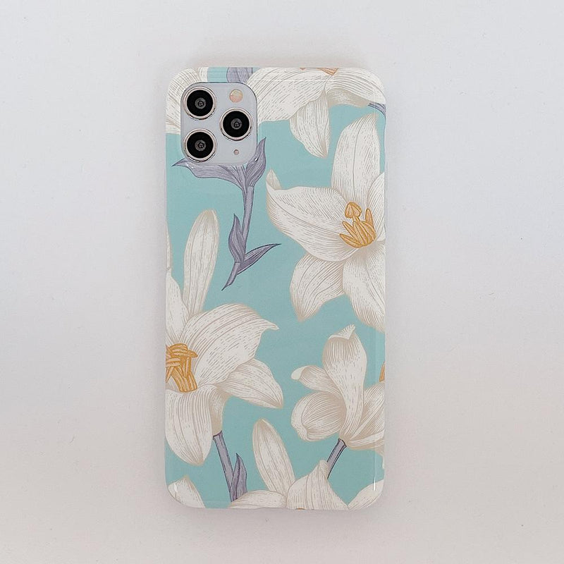 Pressed Flowers Case - Jelly Cases