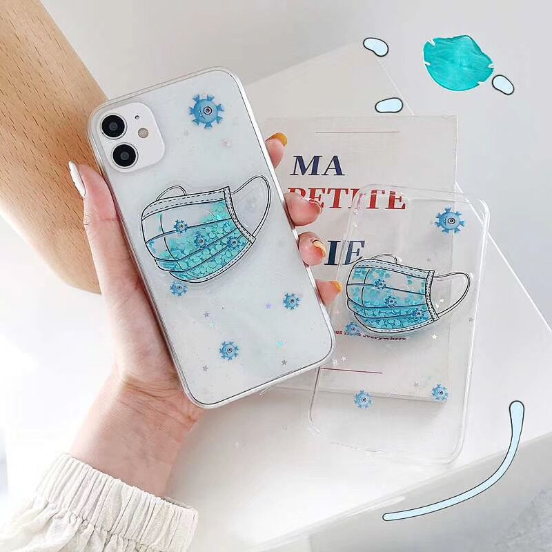 Mask Printed Case - Jelly Cases