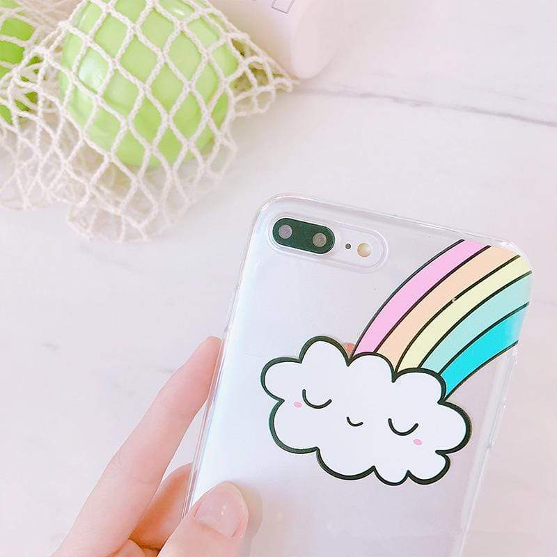 Rainbow Cloud - Jelly Cases