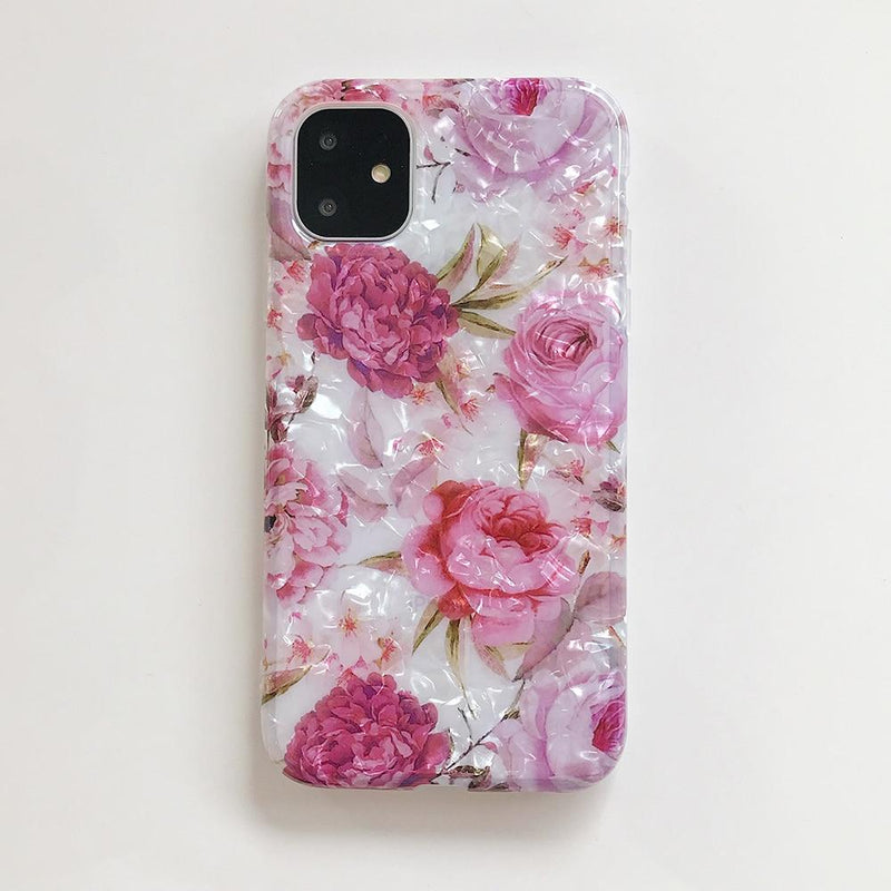 Retro Floral Dream Shell Case - Jelly Cases